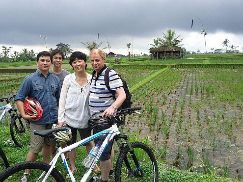 Irwin's Bali cycle trip